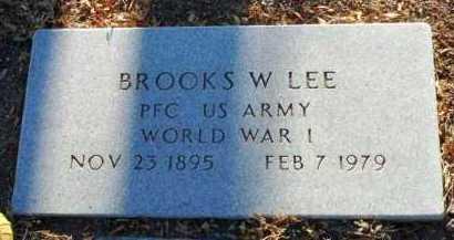 LEE, BROOKS WILLIAMS - Yavapai County, Arizona | BROOKS WILLIAMS LEE - Arizona Gravestone Photos