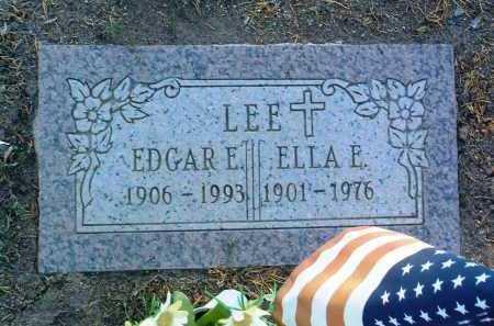 LEE, ELLA E. - Yavapai County, Arizona | ELLA E. LEE - Arizona Gravestone Photos