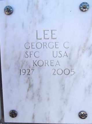 LEE, GEORGE CLARENCE - Yavapai County, Arizona | GEORGE CLARENCE LEE - Arizona Gravestone Photos