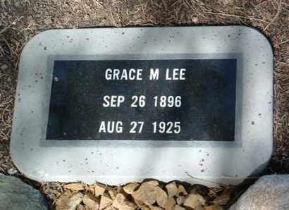LEE, GRACE M. - Yavapai County, Arizona   GRACE M. LEE - Arizona Gravestone Photos
