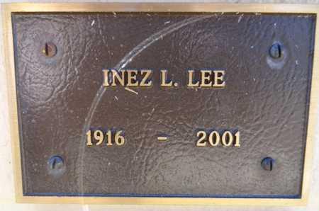 LEE, INEZ L - Yavapai County, Arizona | INEZ L LEE - Arizona Gravestone Photos