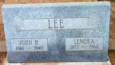 LEE, LENORA - Yavapai County, Arizona | LENORA LEE - Arizona Gravestone Photos