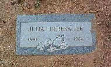 FISHER, JULIA THERESA - Yavapai County, Arizona | JULIA THERESA FISHER - Arizona Gravestone Photos