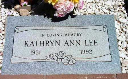 LEE, KATHRYN ANN - Yavapai County, Arizona | KATHRYN ANN LEE - Arizona Gravestone Photos