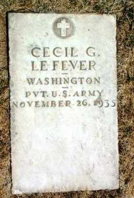 LE FEVER, CECIL GAIL - Yavapai County, Arizona   CECIL GAIL LE FEVER - Arizona Gravestone Photos