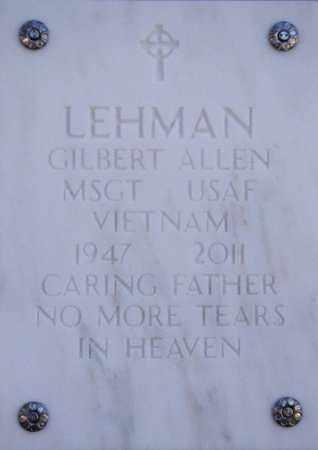 LEHMAN, GILBERT ALLEN - Yavapai County, Arizona | GILBERT ALLEN LEHMAN - Arizona Gravestone Photos