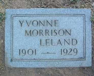 LELAND, YVONNE - Yavapai County, Arizona | YVONNE LELAND - Arizona Gravestone Photos