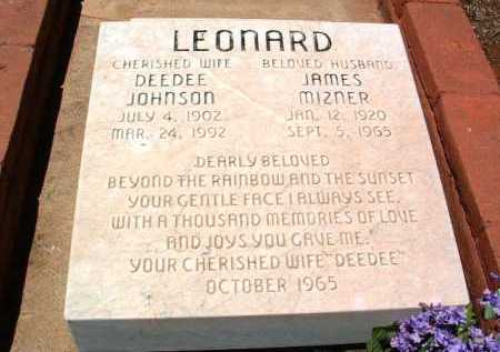 JOHNSON LEONARD, DORIS - Yavapai County, Arizona | DORIS JOHNSON LEONARD - Arizona Gravestone Photos