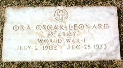 LEONARD, ORA OSCAR - Yavapai County, Arizona | ORA OSCAR LEONARD - Arizona Gravestone Photos