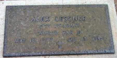 LESCHKE, ALEX M. - Yavapai County, Arizona | ALEX M. LESCHKE - Arizona Gravestone Photos