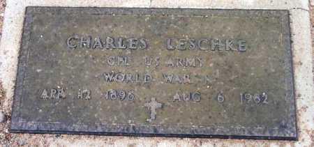 LESCHKE, CHARLES - Yavapai County, Arizona   CHARLES LESCHKE - Arizona Gravestone Photos