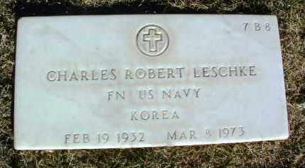 LESCHKE, CHARLES ROBERT - Yavapai County, Arizona | CHARLES ROBERT LESCHKE - Arizona Gravestone Photos