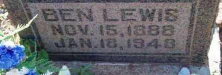 LEWIS, BEN - Yavapai County, Arizona | BEN LEWIS - Arizona Gravestone Photos