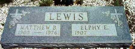 JAMES LEWIS, ELPHY ESTELLA - Yavapai County, Arizona | ELPHY ESTELLA JAMES LEWIS - Arizona Gravestone Photos