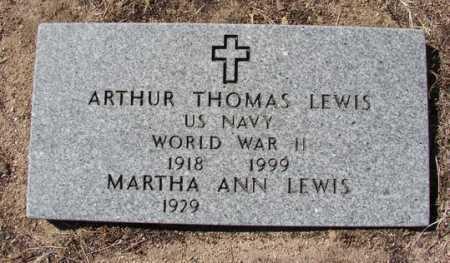 LEWIS, MARTHA ANN - Yavapai County, Arizona   MARTHA ANN LEWIS - Arizona Gravestone Photos