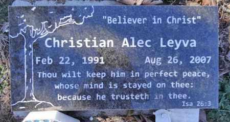 LEYVA, CHRISTIAN ALEC - Yavapai County, Arizona | CHRISTIAN ALEC LEYVA - Arizona Gravestone Photos