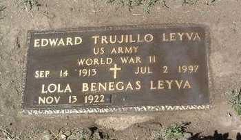LEYVA, EDWARD TRUJILLO - Yavapai County, Arizona | EDWARD TRUJILLO LEYVA - Arizona Gravestone Photos