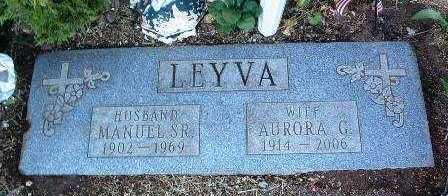 LEYVA, MANUEL SR - Yavapai County, Arizona | MANUEL SR LEYVA - Arizona Gravestone Photos