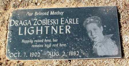ZOBIESKI LIGHTNER, DRAGA - Yavapai County, Arizona | DRAGA ZOBIESKI LIGHTNER - Arizona Gravestone Photos