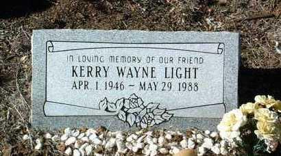 LIGHT, KERRY WAYNE - Yavapai County, Arizona | KERRY WAYNE LIGHT - Arizona Gravestone Photos