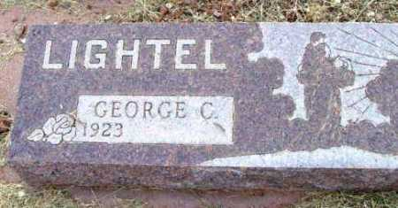 LIGHTEL, GEORGE C. - Yavapai County, Arizona   GEORGE C. LIGHTEL - Arizona Gravestone Photos