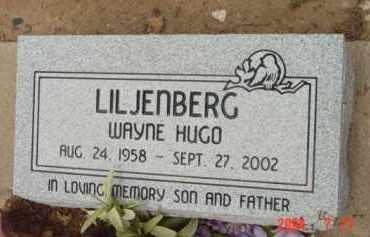 LILJENBERG, WAYNE HUGO - Yavapai County, Arizona | WAYNE HUGO LILJENBERG - Arizona Gravestone Photos