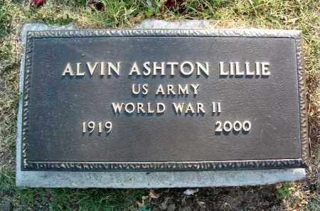 LILLIE, ALVIN ASHTON - Yavapai County, Arizona | ALVIN ASHTON LILLIE - Arizona Gravestone Photos