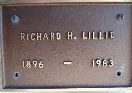 LILLIE, RICHARD HENRY - Yavapai County, Arizona | RICHARD HENRY LILLIE - Arizona Gravestone Photos
