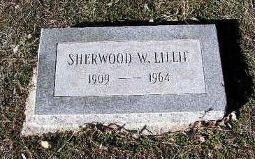 LILLIE, SHERWOOD W. - Yavapai County, Arizona | SHERWOOD W. LILLIE - Arizona Gravestone Photos