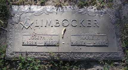 LIMBOCKER, MARIE F. - Yavapai County, Arizona | MARIE F. LIMBOCKER - Arizona Gravestone Photos
