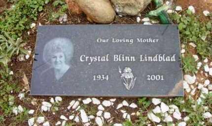 BLINN LINDBLAD, CRYSTAL - Yavapai County, Arizona | CRYSTAL BLINN LINDBLAD - Arizona Gravestone Photos