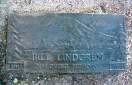 LINDGREN, WILBUR H. (BILL) - Yavapai County, Arizona | WILBUR H. (BILL) LINDGREN - Arizona Gravestone Photos