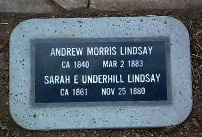 LINDSAY, ANDREW MORRIS - Yavapai County, Arizona | ANDREW MORRIS LINDSAY - Arizona Gravestone Photos