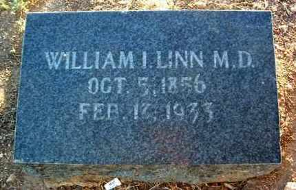 LINN, WILLIAM I., (M.D.) - Yavapai County, Arizona | WILLIAM I., (M.D.) LINN - Arizona Gravestone Photos