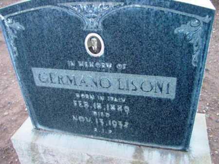 LISONI, GERMANO - Yavapai County, Arizona | GERMANO LISONI - Arizona Gravestone Photos