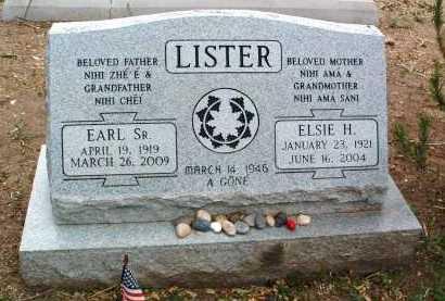 LISTER, ELSIE H. - Yavapai County, Arizona   ELSIE H. LISTER - Arizona Gravestone Photos