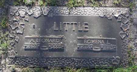 LITTLE, ROWENA LOUISE - Yavapai County, Arizona | ROWENA LOUISE LITTLE - Arizona Gravestone Photos