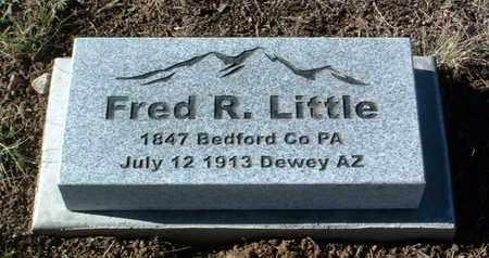 LITTLE, FRED R. - Yavapai County, Arizona   FRED R. LITTLE - Arizona Gravestone Photos
