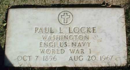 LOCKE, PAUL L. - Yavapai County, Arizona | PAUL L. LOCKE - Arizona Gravestone Photos