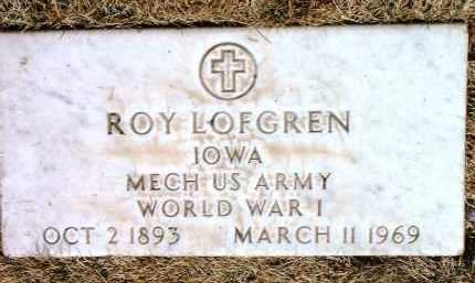 LOFGREN, ROY - Yavapai County, Arizona   ROY LOFGREN - Arizona Gravestone Photos