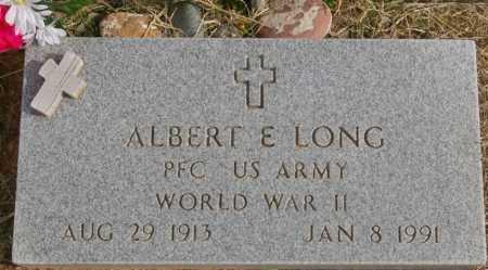 LONG, ALBERT EDWARD - Yavapai County, Arizona   ALBERT EDWARD LONG - Arizona Gravestone Photos
