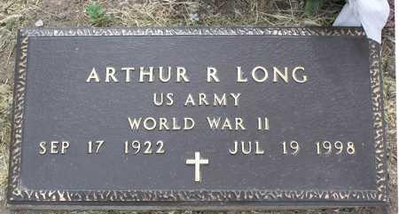 LONG, ARTHUR ROBERT - Yavapai County, Arizona | ARTHUR ROBERT LONG - Arizona Gravestone Photos