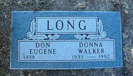 LONG, DONNA VIRGINIA - Yavapai County, Arizona | DONNA VIRGINIA LONG - Arizona Gravestone Photos
