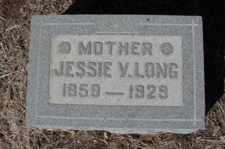 LONG, JESSIE V. - Yavapai County, Arizona | JESSIE V. LONG - Arizona Gravestone Photos