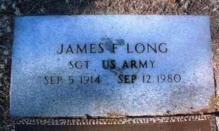 LONG, JAMES FRANKLIN - Yavapai County, Arizona | JAMES FRANKLIN LONG - Arizona Gravestone Photos