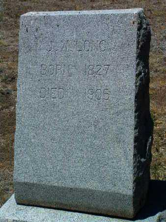 LONG, JOHN W. - Yavapai County, Arizona   JOHN W. LONG - Arizona Gravestone Photos