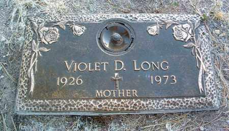 LONG, VIOLET DORRIS - Yavapai County, Arizona | VIOLET DORRIS LONG - Arizona Gravestone Photos
