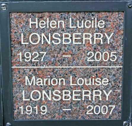 LONSBERRY, HELEN LUCILLE - Yavapai County, Arizona   HELEN LUCILLE LONSBERRY - Arizona Gravestone Photos