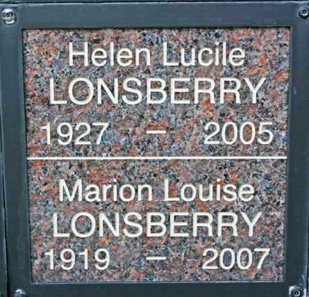 LONSBERRY, MARION LOUISE - Yavapai County, Arizona | MARION LOUISE LONSBERRY - Arizona Gravestone Photos