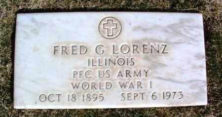 LORENZ, FRED GEORGE - Yavapai County, Arizona   FRED GEORGE LORENZ - Arizona Gravestone Photos